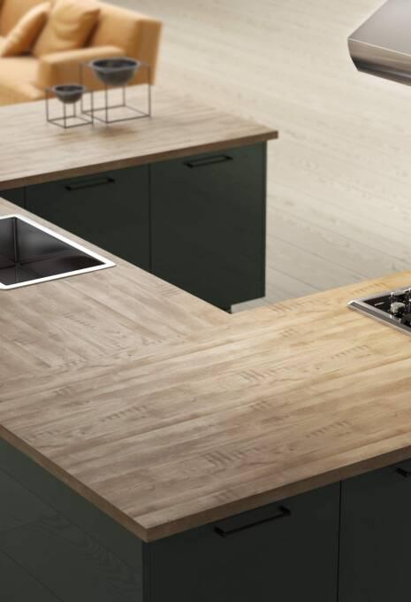 Ultra Kitchen in Ash Gray
