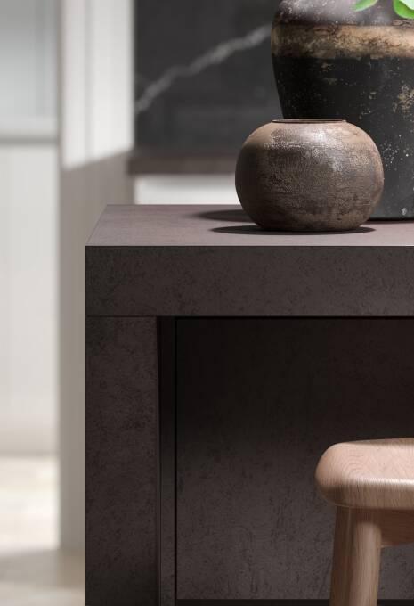 Milano Elements Kitchen in Italian Concrete