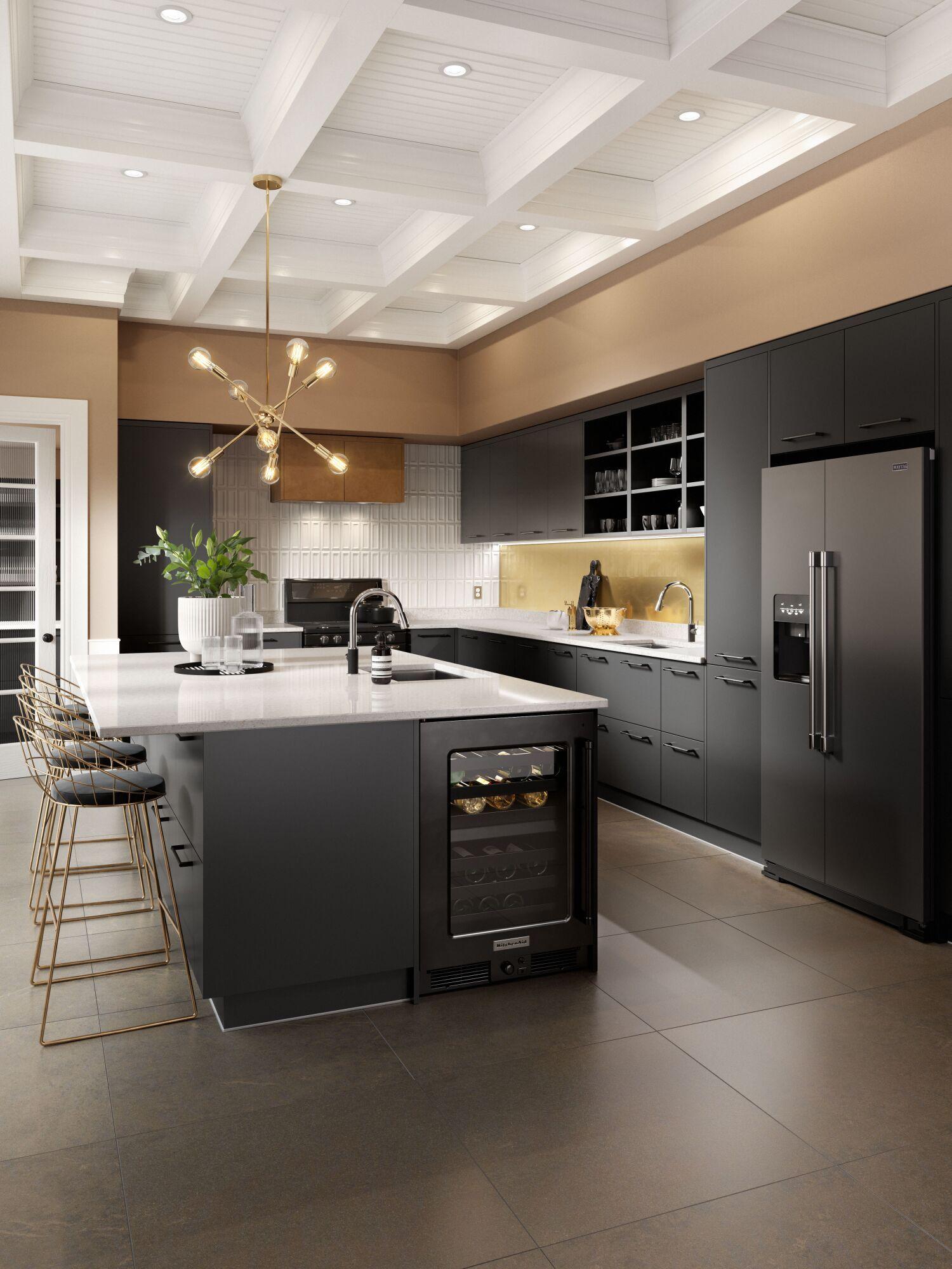 Ultra Kitchen in Nero