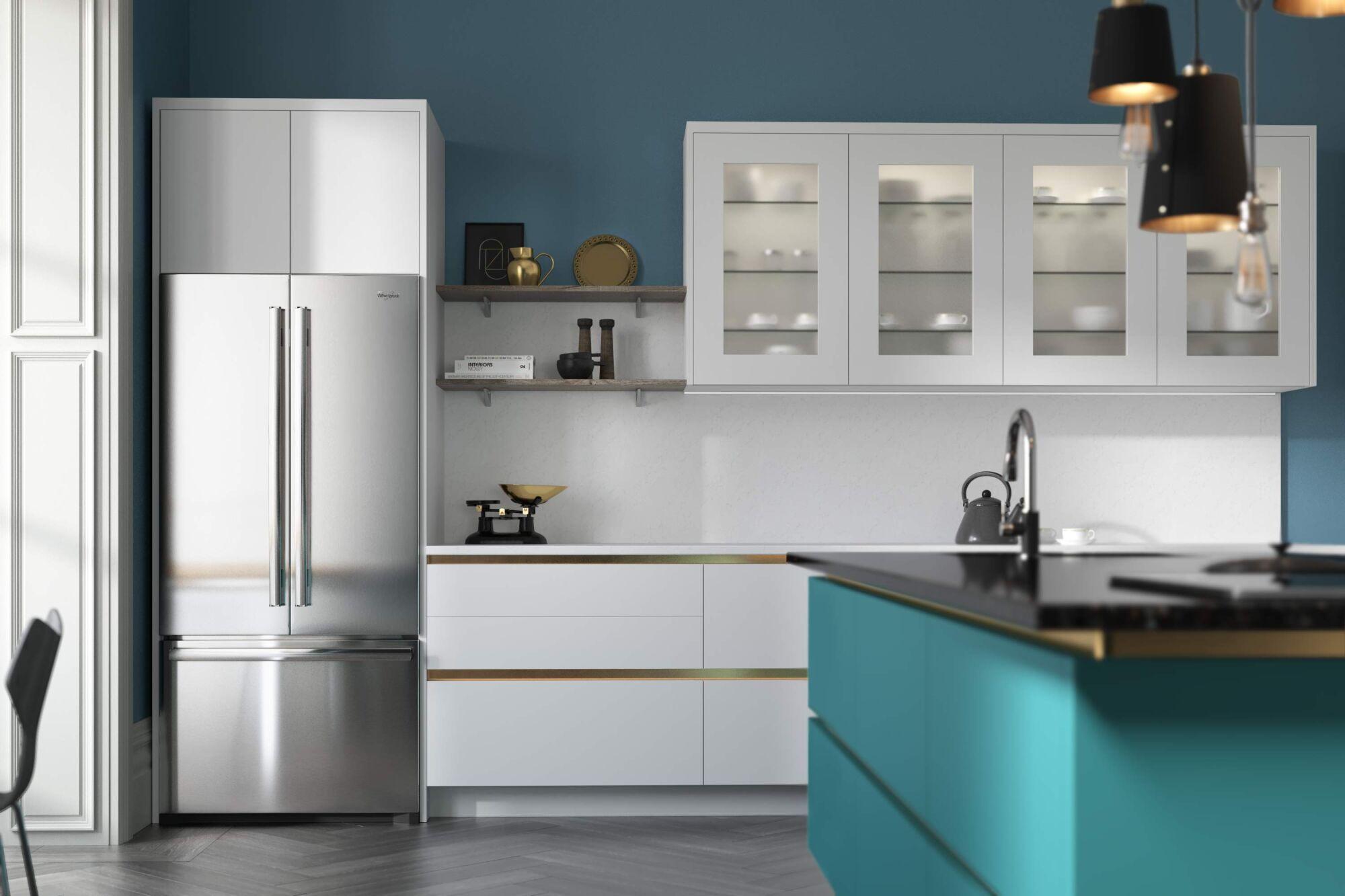 Milano Ultra Kitchen in Chalk White