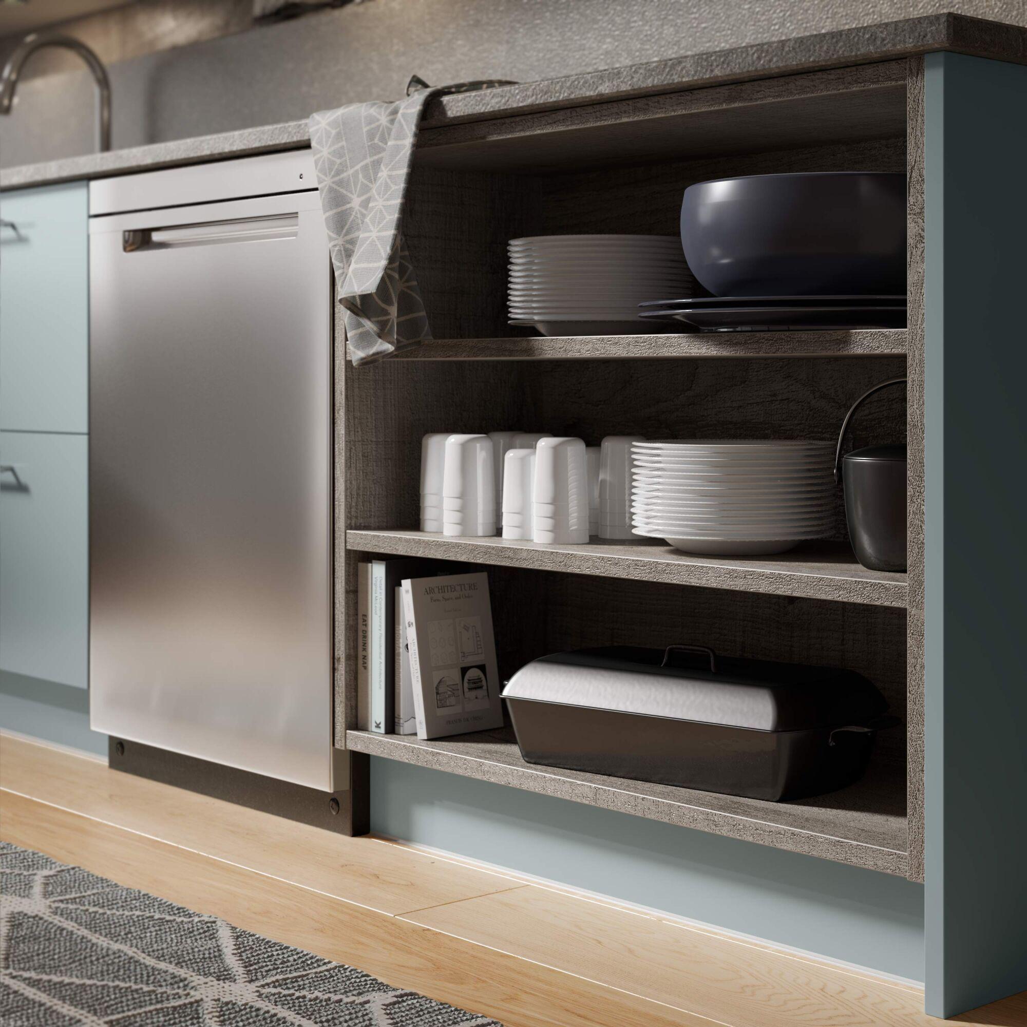 Ultra Kitchen in Cloud Blue