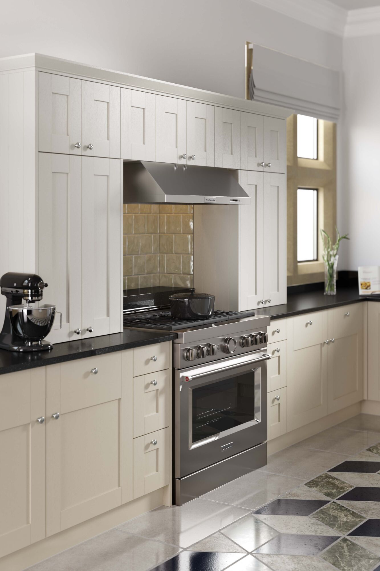 Shaker Forest Classic Kitchen in Thyme