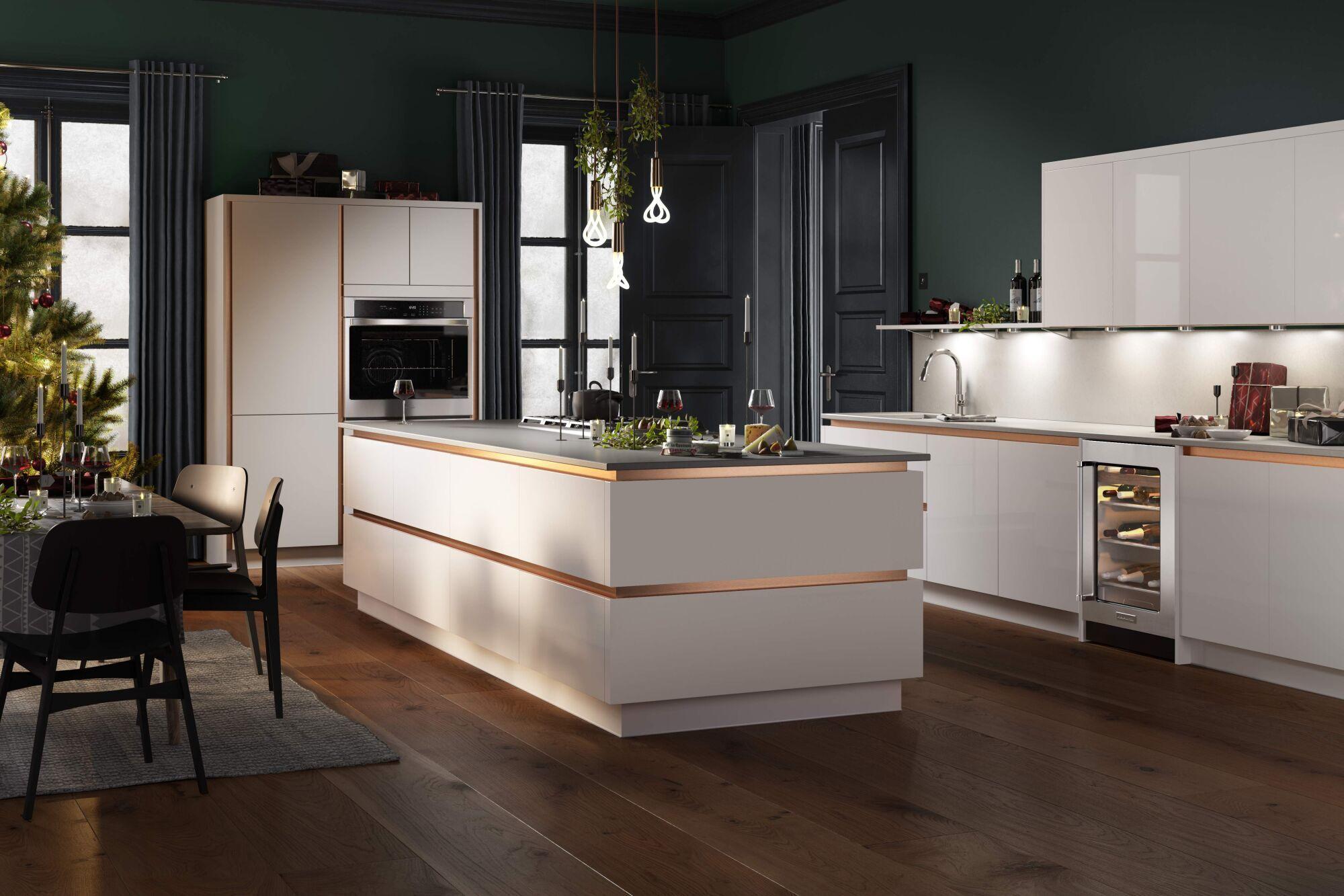 Milano Ultra Kitchen in Bianco