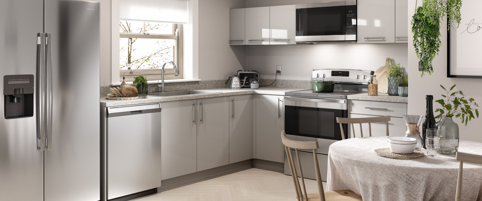 Autograph Kitchen in Ash Gray