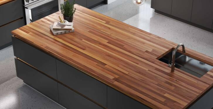 15% off butcher block countertops*