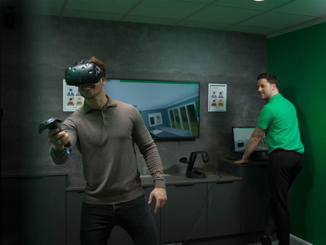 Stunning virtual reality