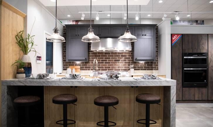 Widest kitchen range in the USA.